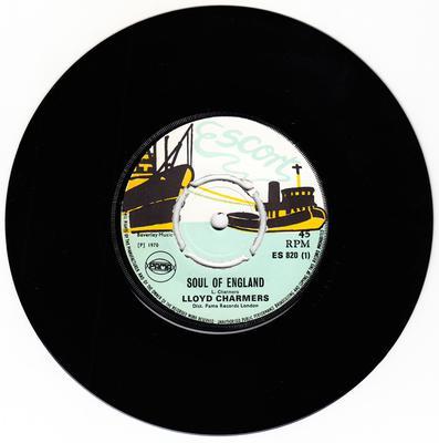 Lloyd Charmers - Soul Of England / Shang I - Escort ES 820