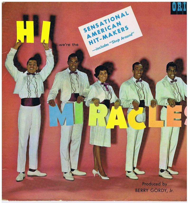 Miracles - Hi We're The Miracles / 1962 British press - Oriole PS 40044