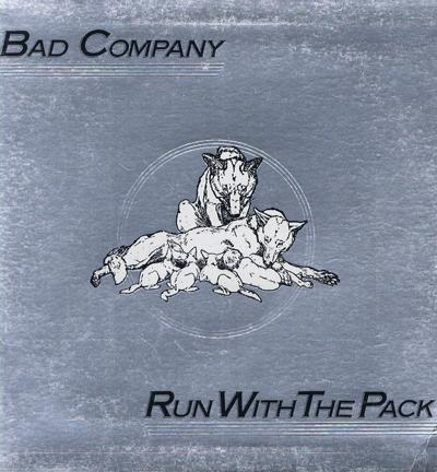Run With The Pack/ 1976 Uk Gatefold Sleeve