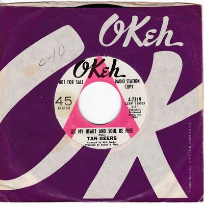 Tan Geers - Let My Heart And Soul Be Free / What's The Use Of Me Trying - Okeh 4-7319 DJ