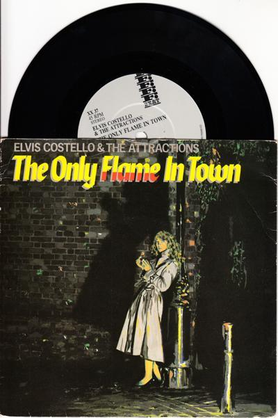The Only Flame In Town/ The Comedians