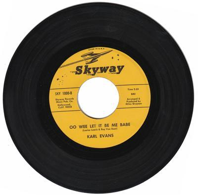 Oo Wee Let It Be You Babe/ Same: Instrumental
