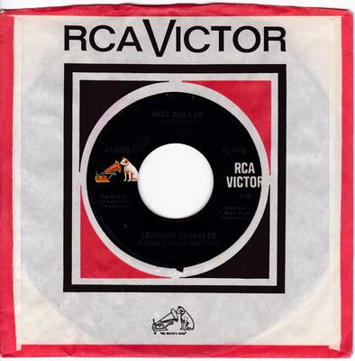 Lorraine Chandler - What Can I Do / Tell Me You're Mine - RCA 47-8810