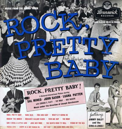 Rock, Pretty Baby/ Original 1957 Uk Press