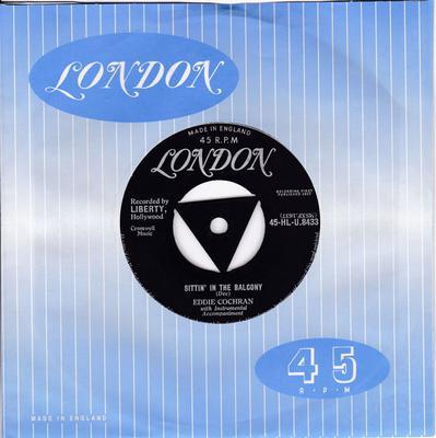 Eddie Cochran - Sittin' In The Balcony / Completely Sweet London HLU 8433