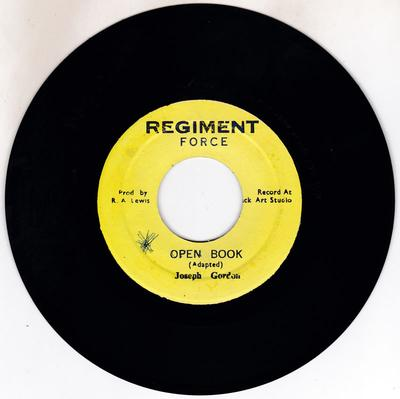 Joseph Gordon - Open Book / Pressure Drop - Regiment 4471