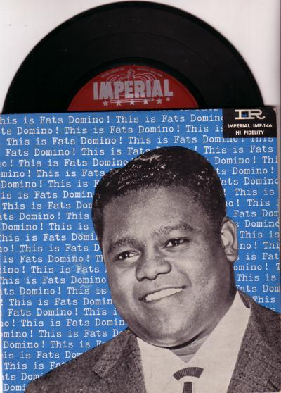 Fats Domino/ Original 1956 Ep With Cover