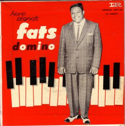 Here Stands Fats Domino # 1/ Original 1957 Ep With Cover