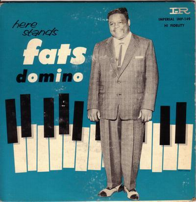 Here Stands Fats Domino # 2/ 1957 Original Ep With Cover