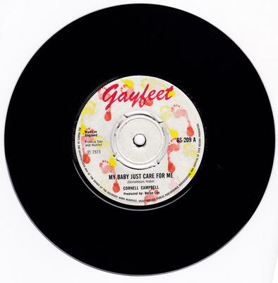 Cornell Campbell - My Baby Just Cares For Me / Jah Jah Me Horn Yah - Gayfeet GS 209