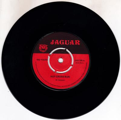 Big Youth - Hot Cross Bun / River Jordan - Jaguar JAG 105