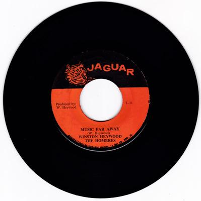 Winston Heywood the Hombres - Music Far Away / Version - Jaguar J 34