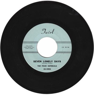 Seven Lonely Days/ Santa's Got A Coupe De Ville