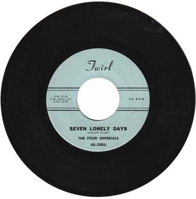Image for Seven Lonely Days/ Santa's Got A Coupe De Ville