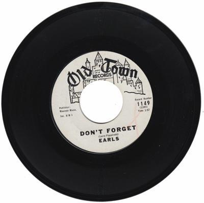 Image for Don't Forget/ I Believe