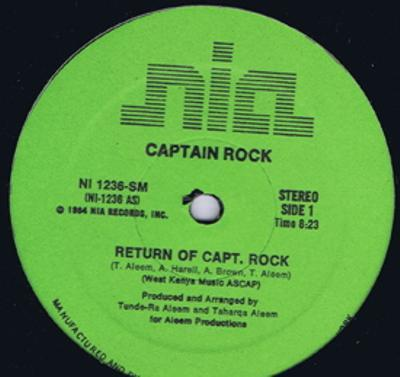 Return Of Capt. Rock/ Same; Instrumental