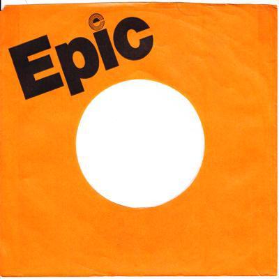 Uk Epic Sleeve 1976 - 79/ Original Mid 70s Uk Sleeve