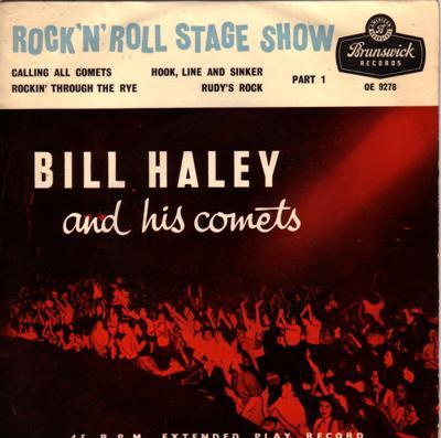 Rock N Roll Stage Show/ 1956 Uk Tri Center Ep  Cover