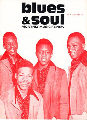 Blues & Soul - no. 9 June 1968 / Showstoppers on cover - Blues & Soul 9