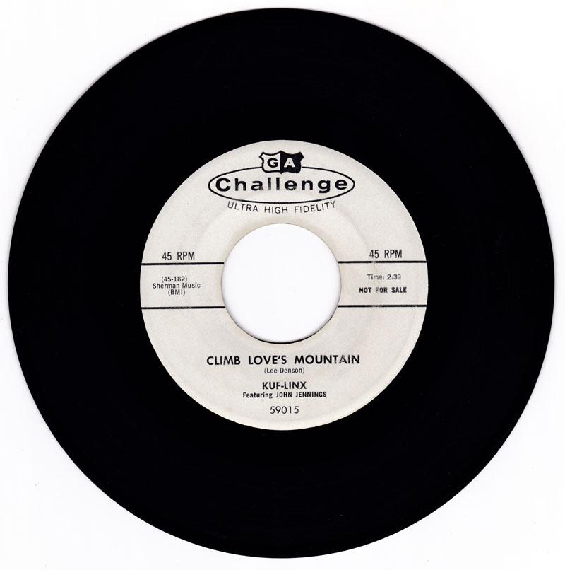 Kuf-Linx - Climb Love's Mountain / All That's Good - Challenge 59015