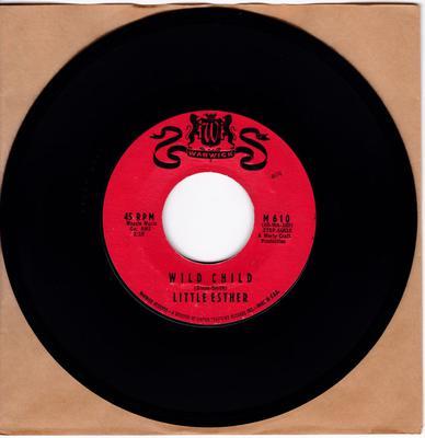 Little Esther - Wild Child / Gee Baby - Warwick M 610