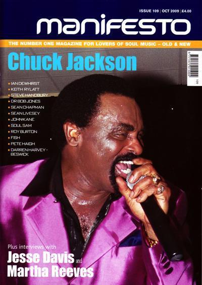 Manifesto Magazine Issue 109/ Chuck Jackson Special