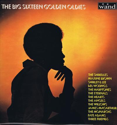 Big Sixteen Golden Oldies/ Rare 1970 Uk Compilation