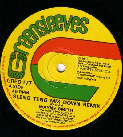 Sleng Teng Mix Down Remix/ Cry For Me