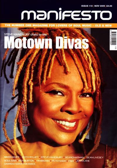 Manifesto Issue 110/ Motown Divas Special