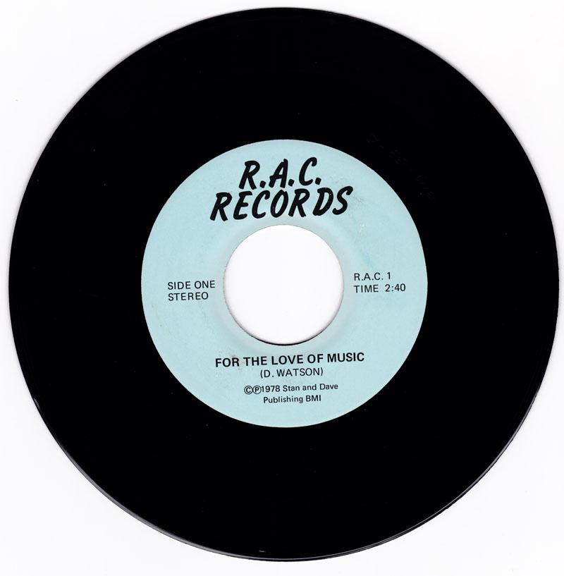 Rikki Aaron (D. Watson) - Say What's On Your Mind - R.A.C. Records 1