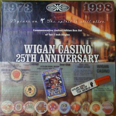 Wigan Casino 25th. Anniversary/ 10 Record Box Set 20 Titles