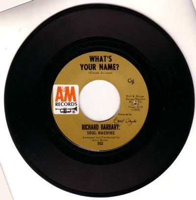 What's Your Name?/ Nature Boy