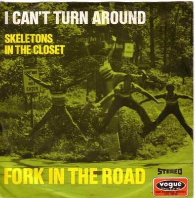 Image for I Can't Turn Around/ Skeletons In The Closet