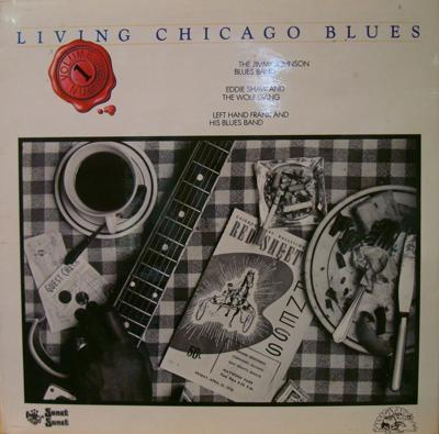 Living Chicago Blues Volume 1/ 1978 Uk Press