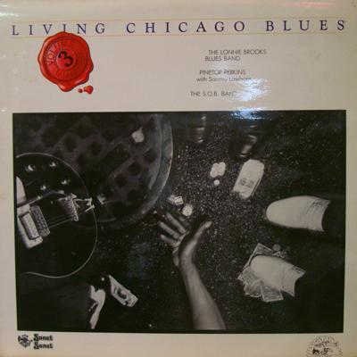 Living Chicago Blues Volume 3/ 1978 Uk Press