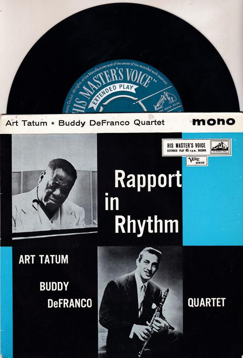 Rapport In Rhythm/ 1957 Uk Ep With Cover