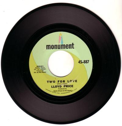 Two For Love/ If I Had My Life To Live Over