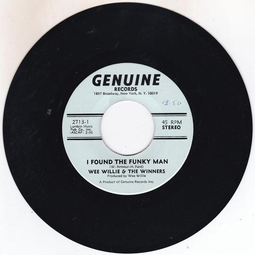 I Found A Funky Man/ Teenage Love Affair