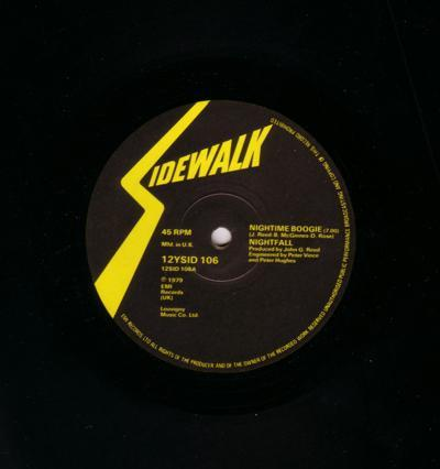 Nightime Boogie/ Same: Instrumental