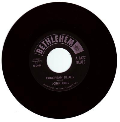 Jonah Jones Special/ European Blues