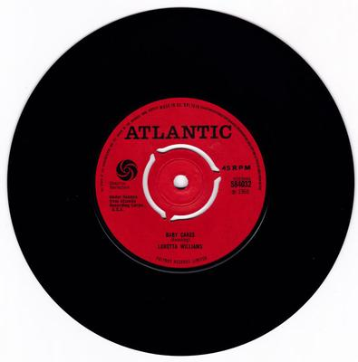 Loretta Williams - Baby Cakes /I'm Missing You - Atlantic 584032