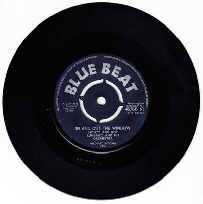 Monty & Roy - In And Out The Window / Tra La La Boogie - Blue Beat BB61