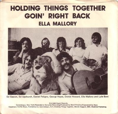 Holding Things Together/ Goin' Right Back
