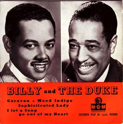 Billy And The Duke/ Early 50s Uk Ep With Cover