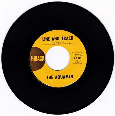 Aquamen - Line And Track - Hiback 109