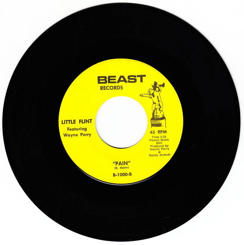 Little Flint featuring Wayne Perry - Pain / Gonna Have a Good Time - Beast B-1000