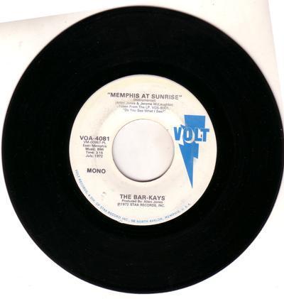 Memphis At Sunrise/ Same: 3.15 Mono Version