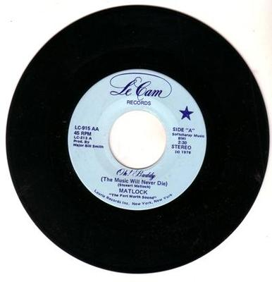 Image for Oh Buddy (this Music Will Never Die)/ Sweet Peggy Sue