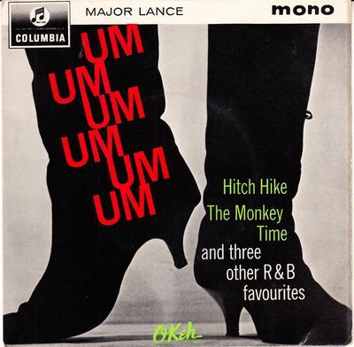 Major Lance - Um, Um, Um, Um, Um, Um / The Monkey Time, Hitchhike, Delilah + 3 - Columbia SEG 8318 EP PS