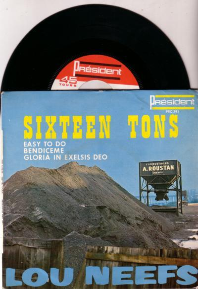 Sixteen Tons/ 4 Track Ep With Cover